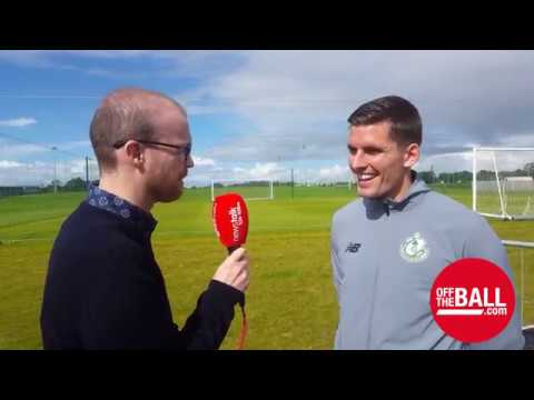 David McAllister on training with Robbie Keane, Damien Duff and Stephen McPhail