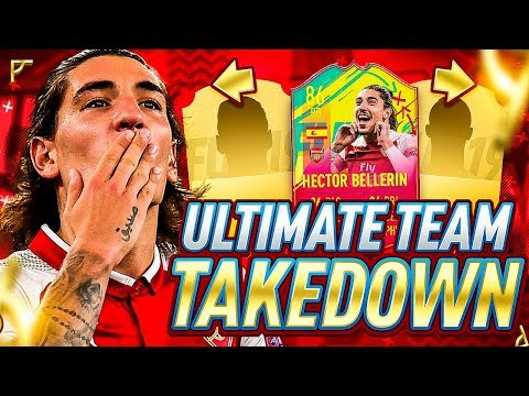 INSANE TEAM TAKEDOWN ON CARNIBALL HECTOR BELLERIN!!! FIFA 19 Ultimate Team!