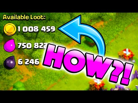 1 MILLION GOLD WHAT! - Clash of Clans - ARE YOU SERIOUS?!