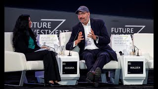 Hyperspeed with Jay Walder, CEO of Virgin Hyperloop One – Future Investment Initiative 2019 – Day 3