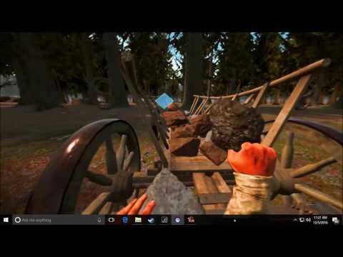 FINALLY HUNTING DEER! | Yore VR (Video 2) | HTC Vive Virtual Reality demo
