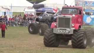 Monster Trucks at the Great Dorset Steam Fair 2015