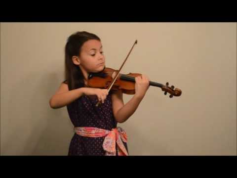 Fritz Kreisler - Rondino (On a Theme by Beethoven) played by Leila Warren, 7