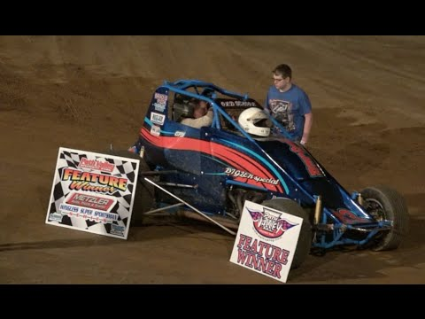 Wingless Super Sportsman Feature Race | Path Valley Carmen Perigo Jr.