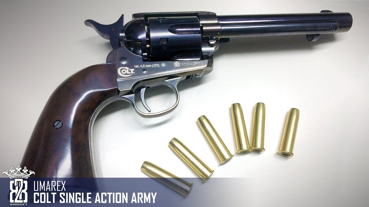 Colt cowboy single-action army saa revolver