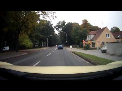 Car Ride ☐ Potsdam →  Berlin Germany Driver`s View