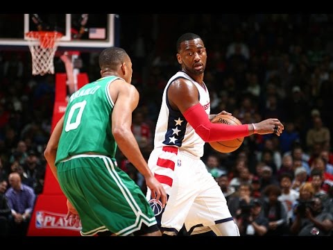 Wizards' John Wall drains a winning three-pointer to set up a Game 7 in Boston