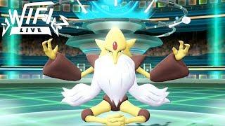 Pokemon Let's Go Pikachu & Eevee Wi-Fi Battle: Mega Alakazam Can't Be Stopped! (1080p)
