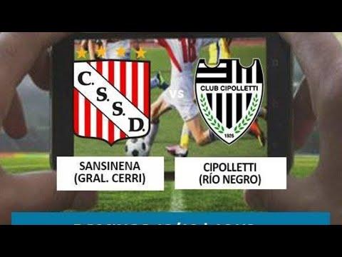 Fútbol en vivo: Sansinena vs. Cipolletti
