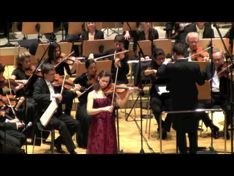 Yvonne Smeulers - Brahms Violin Concerto in D major, 2. Adagio