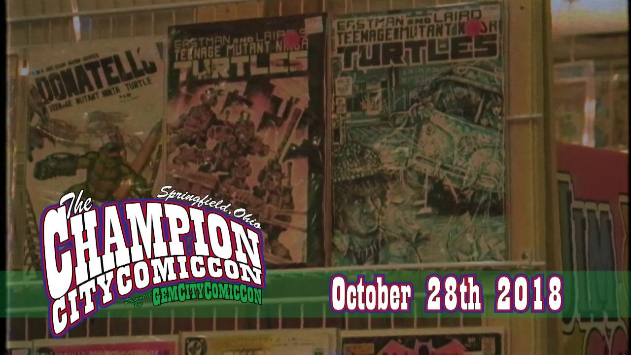 Champion City Comic Con 2018