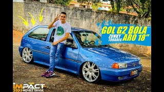 GOL BOLA REBAIXADO COM RODAS ZUNKY ZK 750 ARO 18 Impact-Movies Brasil
