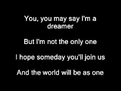 YouTube   Avril Lavigne   Imagine John Lennon With Lyrics