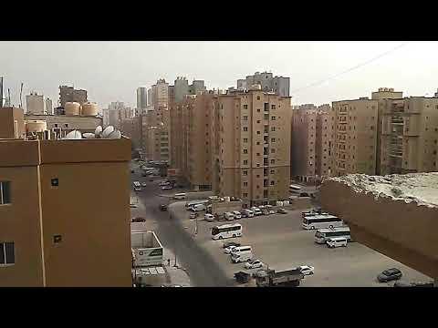 Mahabullah labor building camp in Kuwait