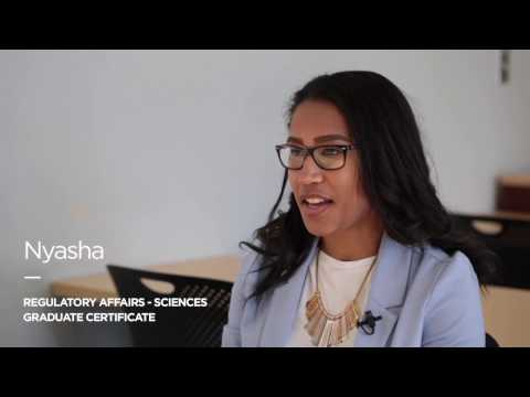 Nyasha - Regulatory Affairs – Sciences Graduate Certificate