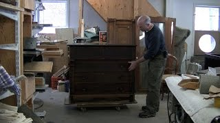 Restoring An Antique Cabinet (part One) - Thomas Johnson Antique Furniture Restoration