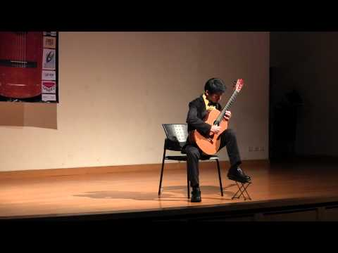 (TIGF2014) J.S.Bach - Prelude VI from Well tempered clavier by Chinnawat Themkumkwun