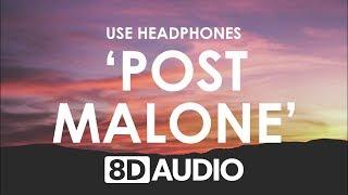 Sam Feldt - Post Malone (feat. RANI) (8D AUDIO) 🎧