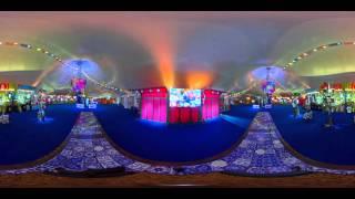 LUZIA by Cirque du Soleil  Concession Tent in 360