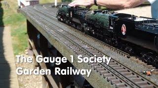 The Gauge 1 Society Garden Railway Leicestershire