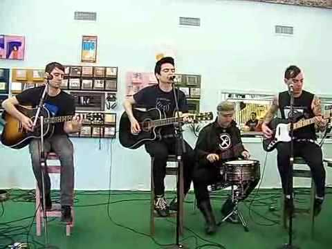 Anti-Flag acoustic session - One Trillion Dollars
