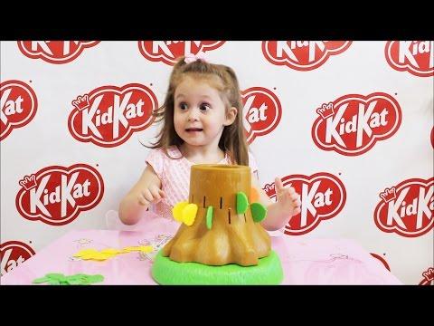 ➤VLOG Кид Кэт КидКэт – Crazy Крейзи Белка настольная игра канал Катя