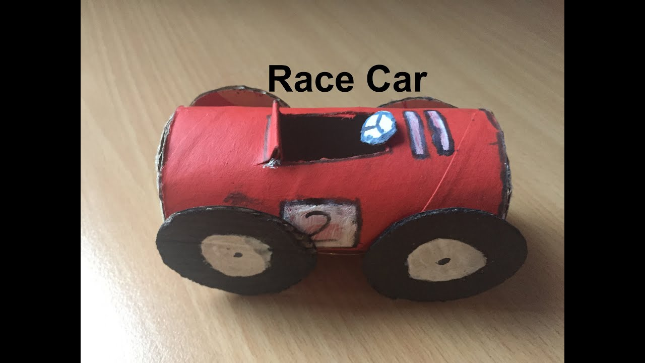 how to make a race car out of cardboard youtube. Black Bedroom Furniture Sets. Home Design Ideas