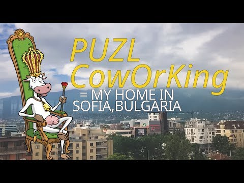 PUZL CowOrKing = My Home in Sofia Bulgaria
