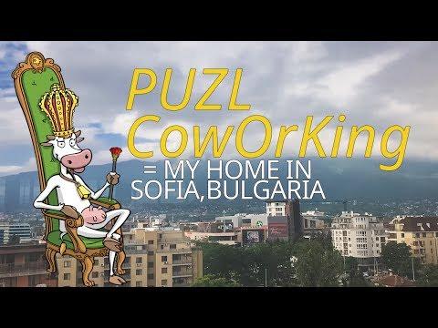 PUZL CowOrKing = My Home in Sofia Bulgaria