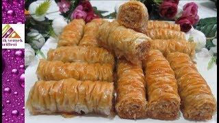 Çıtır Çıtır Burgu Baklava Tarifi- Pratik Yemek Tarifleri
