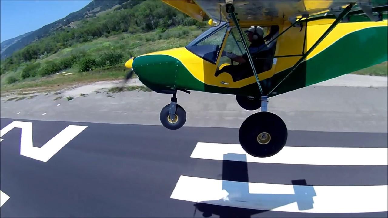 Zenith STOL Sky Jeep: Slow flight demonstration and outstanding handling  characteristics