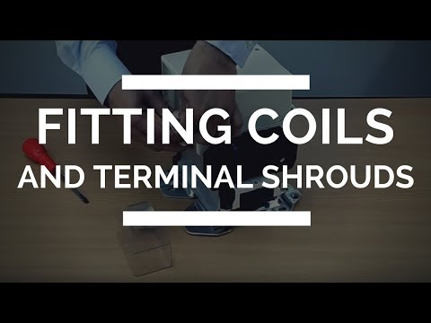 Europa Components | Fitting Coils and Terminal Shrouds to a Europa F Range Contactor