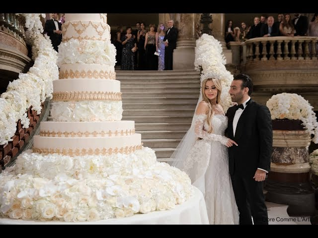 The most Lavish wedding that ever happened at Opera garnier , Paris!
