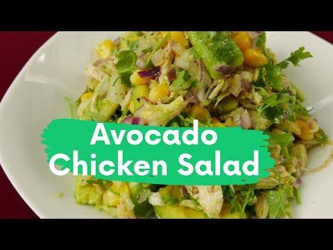 Avocado Chicken Salad Recipe For Weightloss   Delicious Meals Ideas   Foodiy
