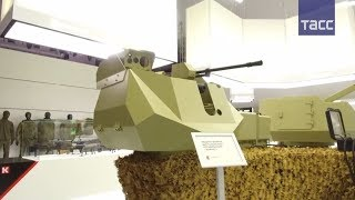 Концерн  Калашников  представил турель с искусственным интеллектом на выставке  Армия 2017