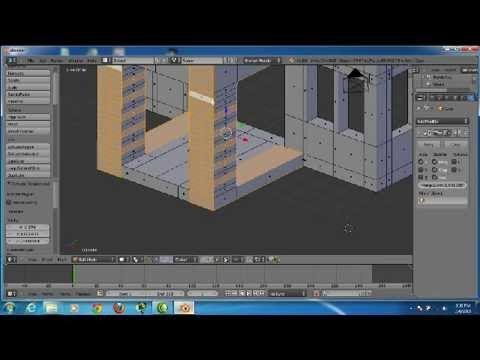 & blender tutorial how to make house (cara membuat rumah) - YouTube