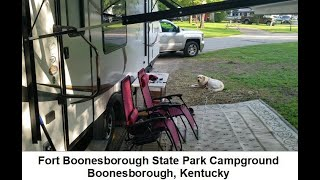 Fort Boonesborough State Pąrk Campground, Boonesborough, Kentucky - Review, Full Time RV Living