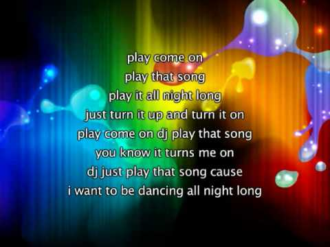 Jennifer Lopez - Play, Lyrics In Video