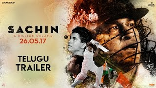 Sachin A Billion Dreams | Official Telugu Trailer | Sachin Tendulkar