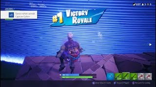 I got sqeakers there first win
