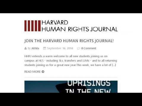 Human Rights Lawyer Job Description - Youtube