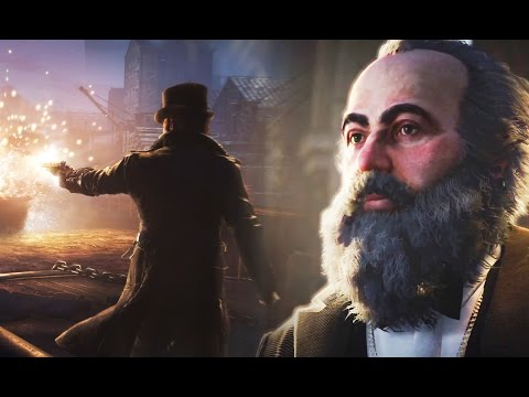 Assassin's Creed Syndicate New Trailer The Historical Characters: Charles Darwin, Dickens & Marx