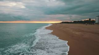 Malgrat de  Mar beach Spain 2018