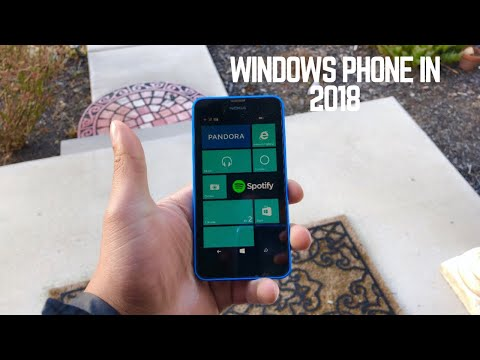 Using Windows Phone in 2018 - Nokia Lumia 635 REVIEW!