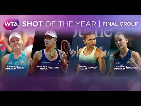 2015 WTA Shot of the Year | Final Group
