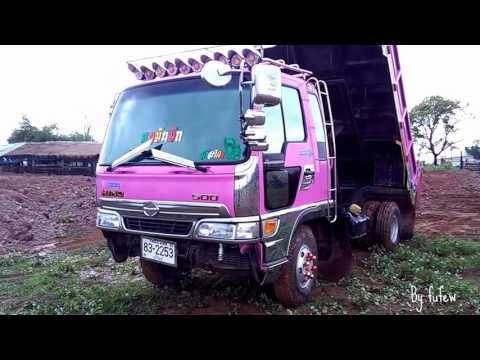 รีวิวรถดั้ม 6 ล้อ คิตตี้สีชมพูหวานแหวว น่ารักมาก Dump Truck