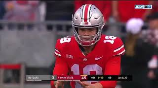 Supercut Tate Martell Goes 10 10 and Electrifies Ohio Stadium Against Rutgers