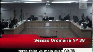 Sessão do dia 21/05/2019.
