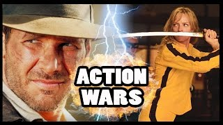 BEATRIX KIDDO (THE BRIDE) vs INDIANA JONES - Action Hero Wars