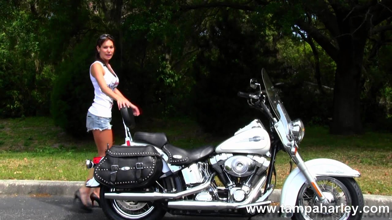 Used 2005 Harley Davidson Flstc Heritage Softail Classic